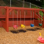 Tadpoles yard swings