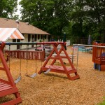 Main yard for Nursery & Preschool